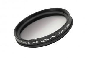 Tridax Verlaufsfilter Gradual grau / grey 49 mm