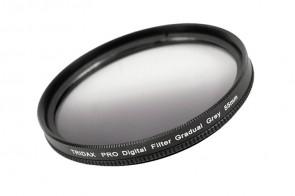 Tridax Verlaufsfilter Gradual grau / grey 55 mm