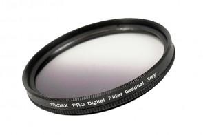 Tridax Verlaufsfilter Gradual grau / grey 58 mm