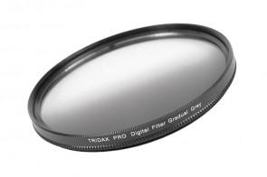 Tridax Verlaufsfilter Gradual grau / grey 72 mm