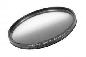 Tridax Verlaufsfilter Gradual grau / grey 77 mm