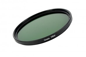 Farbfilter GRÜN / GREEN Filter 49 mm