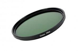 Farbfilter GRÜN / GREEN Filter 67 mm