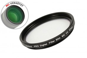 PRO Digital SLIM MC UV Filter 37mm 12-fach vergütet