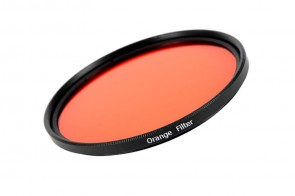 Farbfilter ORANGE Filter 58 mm