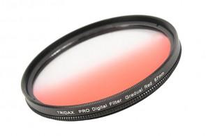 Tridax Verlaufsfilter Gradual rot / red 67mm