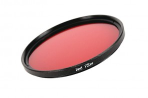 Farbfilter ROT / RED Filter 49 mm