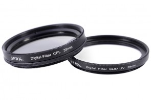 Set 39 mm: CPL Polarisationsfilter Circular SLIM + Digital UV Filter