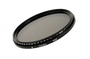Variabler Graufilter ND2 - ND400 58mm